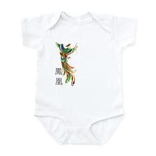 Chinese Phoenix Infant Bodysuit