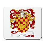 Herve Family Crest Mousepad
