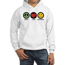 Peace Love Happiness Jumper Hoody
