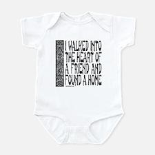 HEART OF A FRIEND Infant Bodysuit