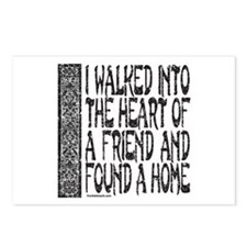 HEART OF A FRIEND Postcards (Package of 8)