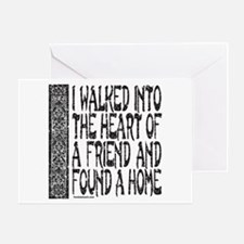 HEART OF A FRIEND Greeting Card