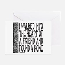 HEART OF A FRIEND Greeting Cards (Pk of 20)