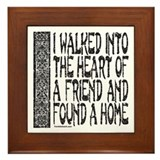 Best friends forever Framed Tiles