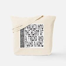 HEART OF A FRIEND Tote Bag