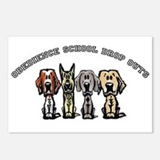 Obedience School Drop Out Postcards (Package of 8)