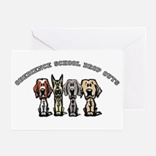 Obedience School Drop Out Greeting Cards (Pk of 10