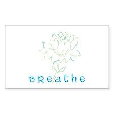 Breathe 2 Rectangle Decal