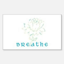 Breathe 2 Rectangle Decal