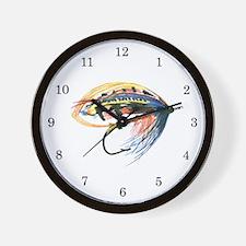 Fishing Lure Art Wall Clock
