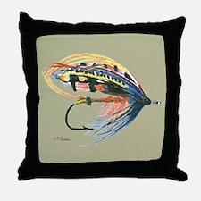 Fishing Lure Art Throw Pillow