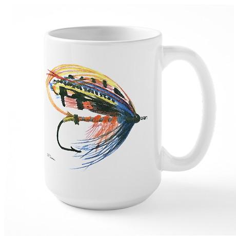 Fishing Lure Art Large Mug