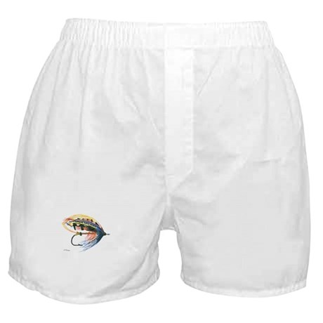 Fishing Lure Art Boxer Shorts