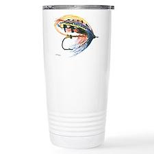 Fishing Lure Art Travel Mug