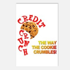 The Crunchy Credit Postcards (Package of 8)