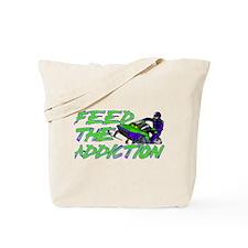 Feed The Addiction Tote Bag