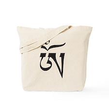 Tibetan OM Tote Bag