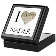 I Heart Nader Keepsake Box