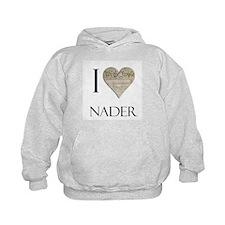 I Heart Nader Hoodie
