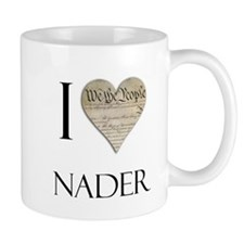 I Heart Nader Mug