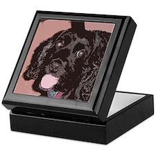 Pop Art Cocker Spaniel Keepsake Box