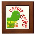 The Credit Crunch Framed Tile