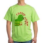 The Credit Crunch Green T-Shirt