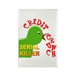 The Credit Crunch Rectangle Magnet (100 pack)