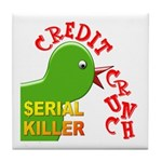 The Credit Crunch Tile Coaster