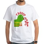 The Credit Crunch White T-Shirt