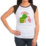 The Credit Crunch Women's Cap Sleeve T-Shirt