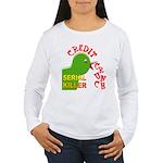 The Credit Crunch Women's Long Sleeve T-Shirt