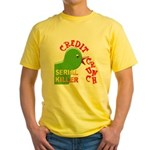 The Credit Crunch Yellow T-Shirt