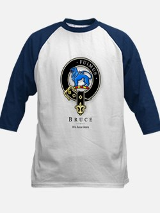 Clan Bruce Kids Baseball Jersey