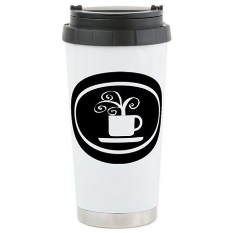 STEAMING COFFEE Stainless Steel Travel Mug