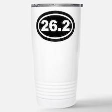 26.2 Marathon Running Stainless Steel Travel Mug