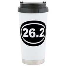 26.2 Marathon Running Travel Mug