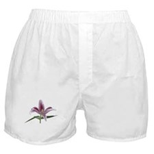 Lily Flower Boxer Shorts