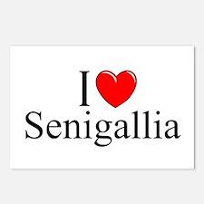 """I Love (Heart) Senigallia"" Postcards (Package of"