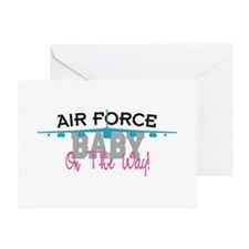 Air Force Baby Greeting Card