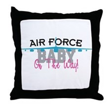 Air Force Baby Throw Pillow