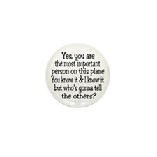 Yes You Are! Mini Button