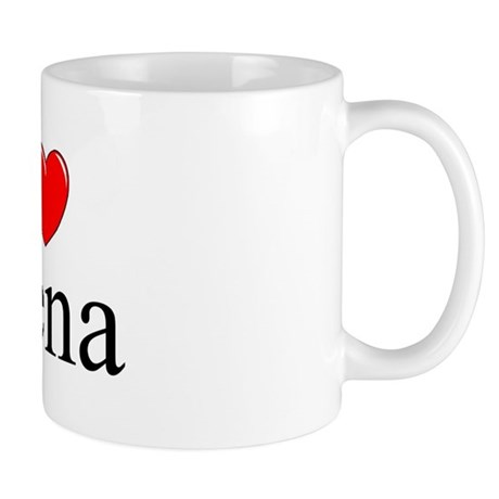 """""""I Love (Heart) Siena"""" Mug"""