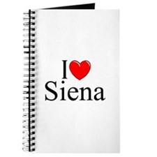 """I Love (Heart) Siena"" Journal"