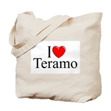 """I Love (Heart) Teramo"" Tote Bag"