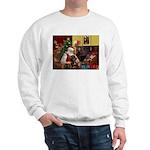 Santa's Rottweiler Sweatshirt