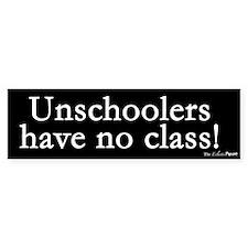 No Class Bumper Bumper Sticker