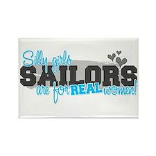 Real women: Sailors Rectangle Magnet