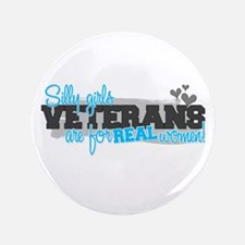 "Real women: Veterans 3.5"" Button"
