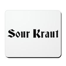 Sour Kraut German Mousepad